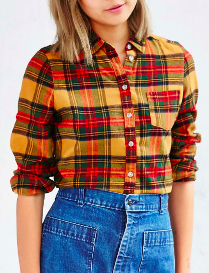 Urban Outfitters flannel shirt