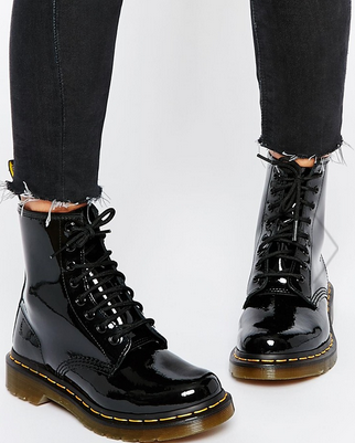 Patent Dr. Martins boots
