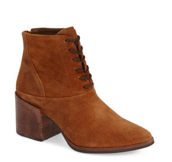 Matisse lace up booties