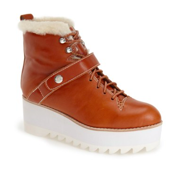 Jeffrey Campbell platform lace up boots