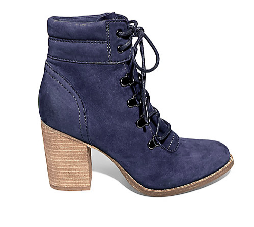 Steve Madden heeled lace up booties