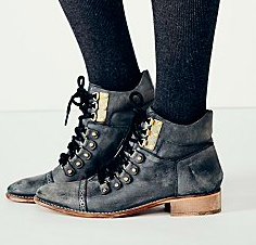 Free People lace up booties