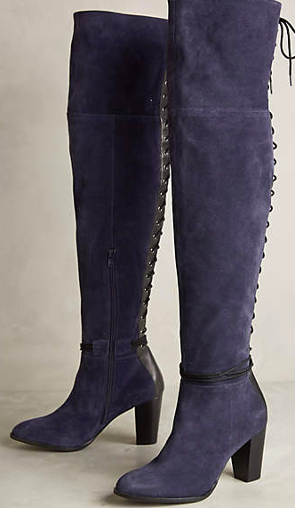 Anthropologie lace up boots