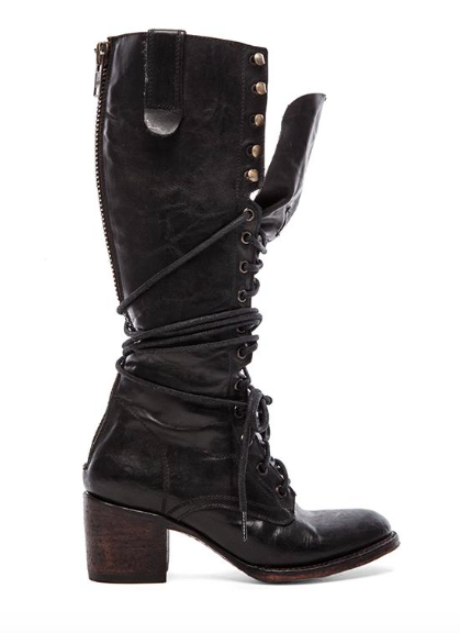 Revolve Clothing lace up boots