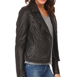 LEVIS faux leather jacket
