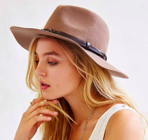 Urban Outfitters felt panama hat