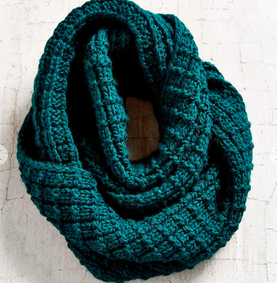 Urban Outfitters chunky eternity scarf