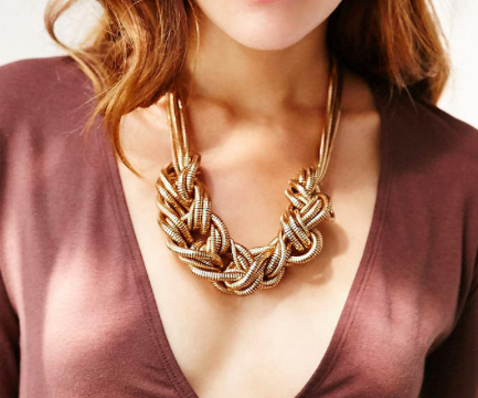 Urban Outfitters knotted necklace