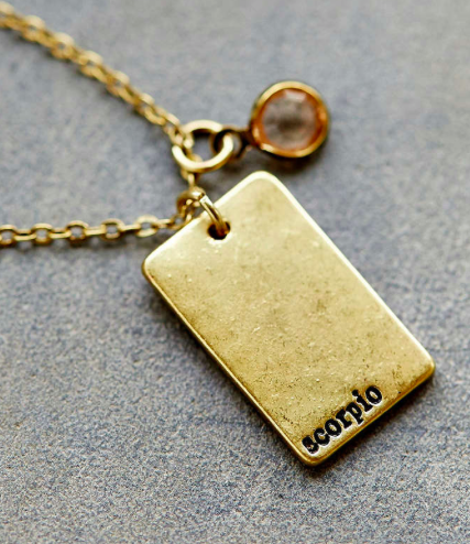 Urban Outfitters zodiac necklace