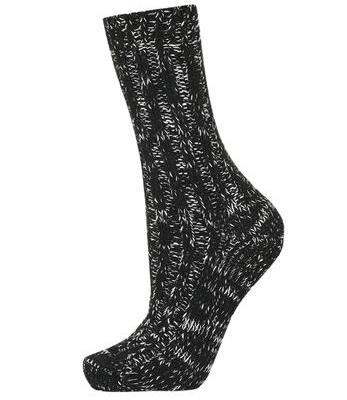 Topshop chunky knit socks