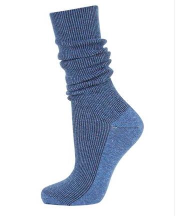 Topshop slouchy ribbed socks