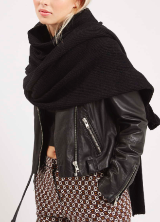 Topshop oversized scarf