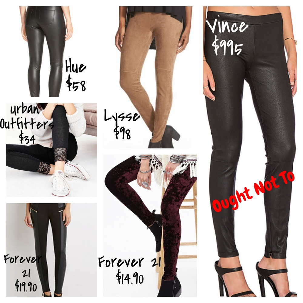 Affordable Embellished Leggings | trufflesandtrends.com