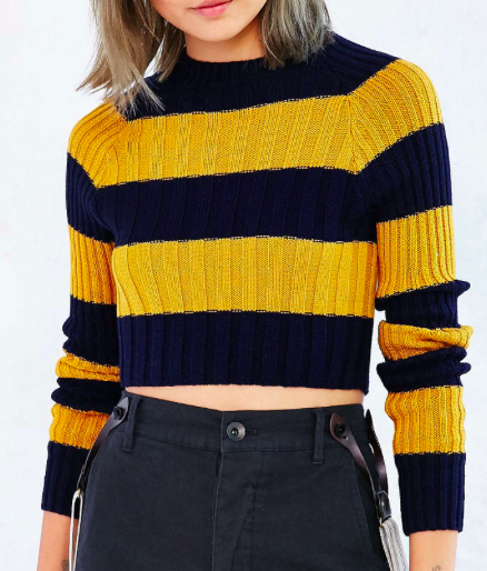 Urban Outfitters cropped knit sweater