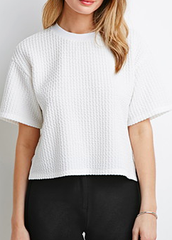 Forever 21 boxy knit sweater