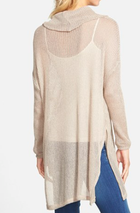 Lush Clothing long knit sweater