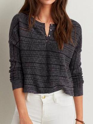 AE knit henley
