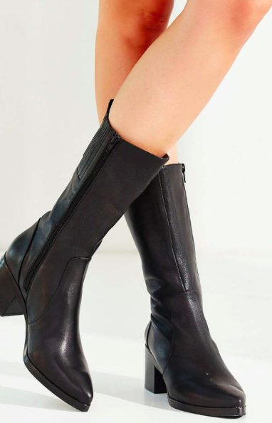 Jeffrey Campbell mid boots