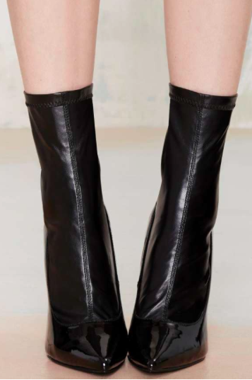 Nasty Gal heeled mid boot