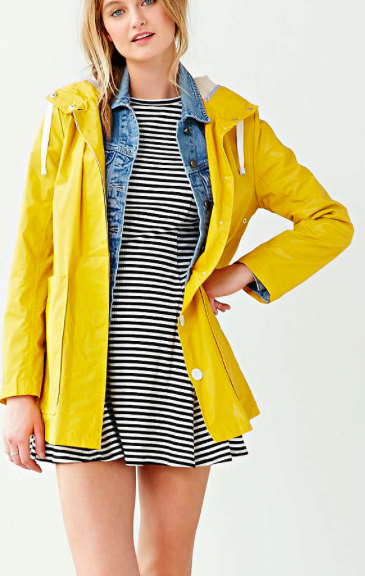 Urban Outfitters fisherman raincoat