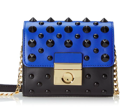 Milly studded crossbody bag