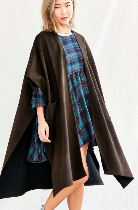 Urban Outfitters pocket cape