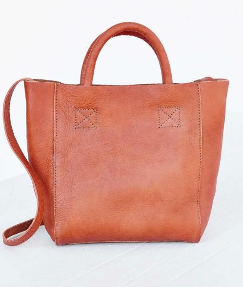 BDG leather mini satchel