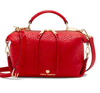 Vince Camuto mini leather satchel