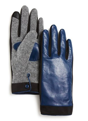Echo leather tech gloves