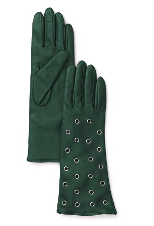 Bloomingdales leather gloves