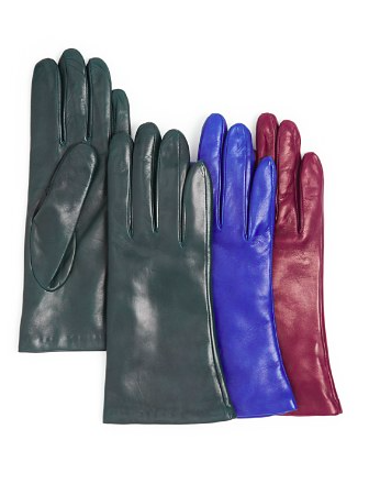 Bloomingdales 2 button leather gloves