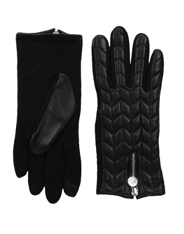 LAUREN by Ralph Lauren RLL Logo Zipper Touch Glove