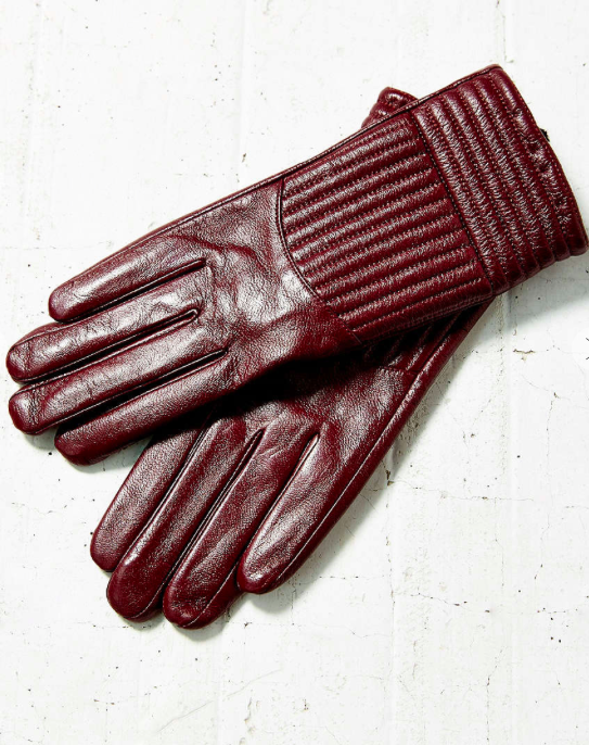 Urban Outfitters leather gloves