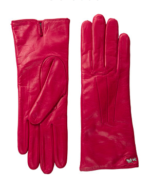COACH Leather Basic Glove