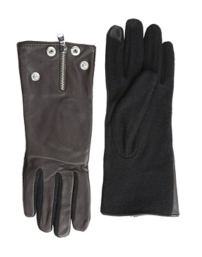 LAUREN by Ralph Lauren Moto Zip Hybrid Touch Glove