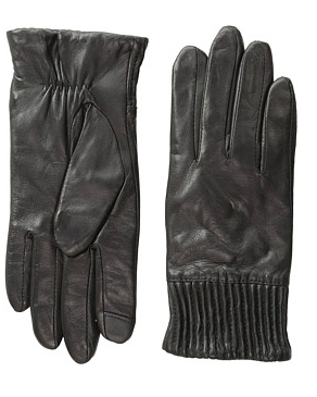 Echo Design Echo Touch Leather Ruched Cuff Glove