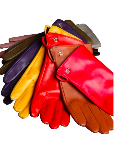 Warmen leather gloves