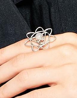 Regal Rose Sterling Silver Solar Plexus Chakra Ring