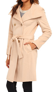 Calvin Klein wool trench coat
