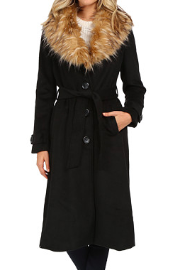 Steve Madden long wool coat