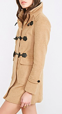 Forever 21 toggle coat