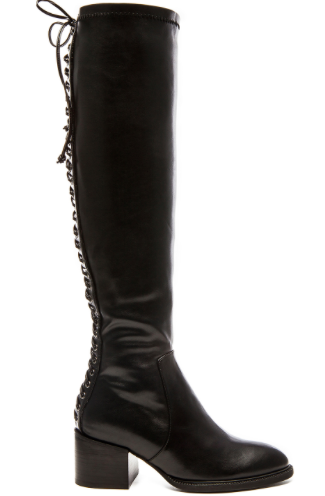 X REVOLVE LUCILA OVER THE KNEE BOOT JEFFREY CAMPBELL