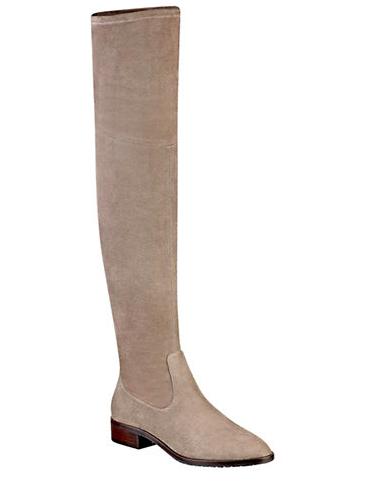 Ivanka Trump flat tall boots