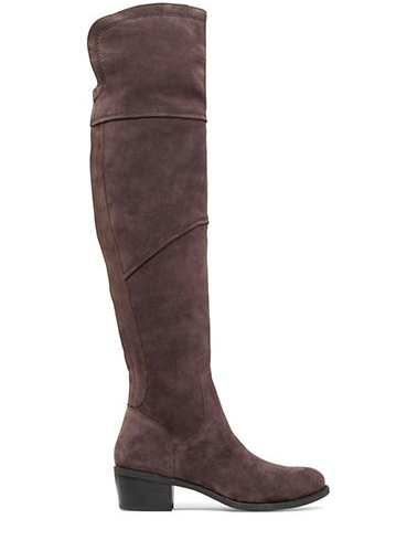 VINCE CAMUTO Bernadine Suede Over-The-Knee Boots