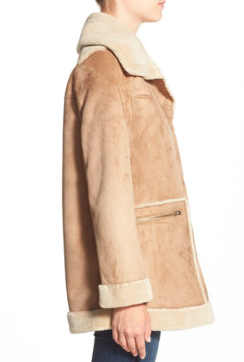 Bernardo Faux Shearling Jacket