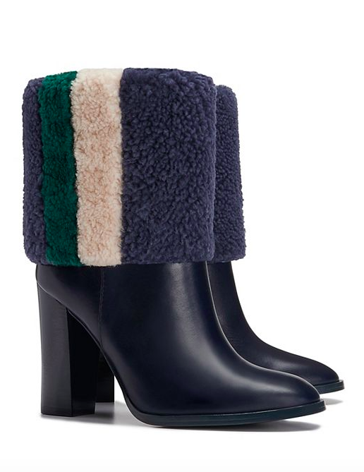 Tory Burch shearling boots