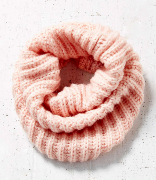 BDG Fuzzy Funnel Scarf