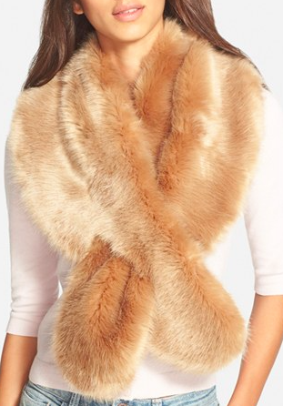 BP. Faux Fur Stole