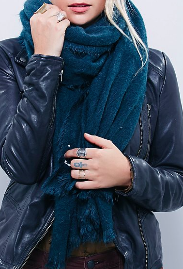 Free People Brushed Scarf