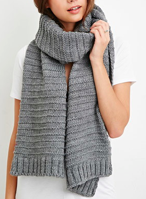 Forever 21 chunky knit scarf